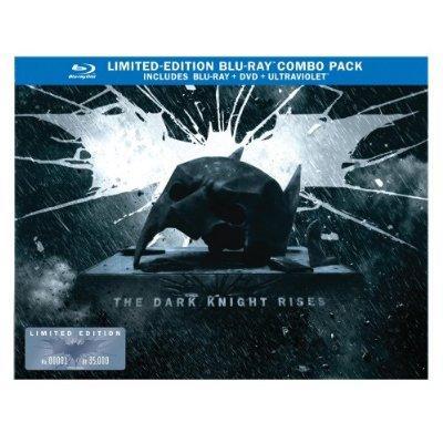 The Dark Knight Rises Limited Edition Bat Cowl BlurayDVD ComboUltraViolet Digital Copy 2012