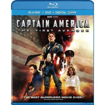Captain America The First Avenger TwoDisc BlurayDVD Combo  Digital Copy 2011