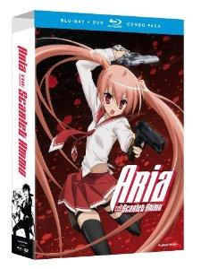 Aria The Scarlet Ammo Limited Edition BlurayDVD Combo 2012