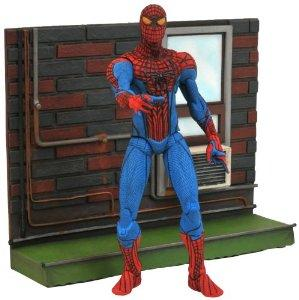 Diamond Select Toys Marvel Select Amazing SpiderMan Movie Action Figure