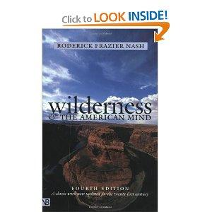 Wilderness And The American Mind Paperback
