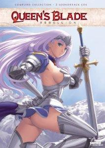 Queens Blade Rebellion Complete Collection