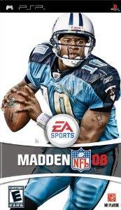 Madden NFL 08  Sony PSP