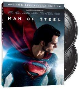 Man Of Steel TwoDisc Special Edition DVD  UltraViolet 2013