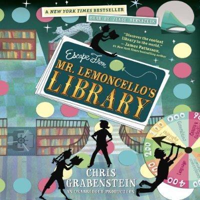 Escape From Mr. Lemoncellos Library Unabridged Audible Audio Edition