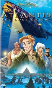 Atlantis  The Lost Empire Walt Disney Pictures Presents VHS 2001