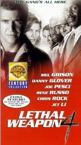 Lethal Weapon 4 VHS 1998