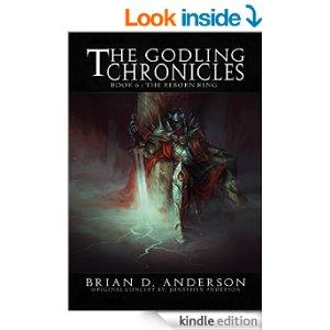 The Godling Chronicles  The Reborn King Book Six Kindle Edition