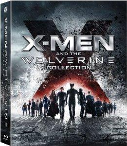 XMen And The Wolverine Collection XMen  X2 XMen United  XMen The Last Stand  XMen Origins Wolverine  XMen First Class  The Wolverine Bluray 2013