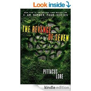 The Revenge Of Seven Lorien Legacies Book 5 Kindle Edition