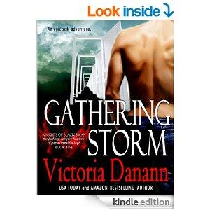Gathering Storm The Vampire Hunters Tale Knights Of Black Swan Book 5 Kindle Edition