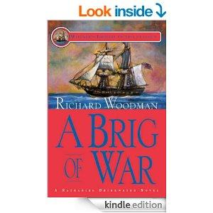 A Brig Of War 3 A Nathaniel Drinkwater Novel Mariners Library Fiction Classic Kindle Edition